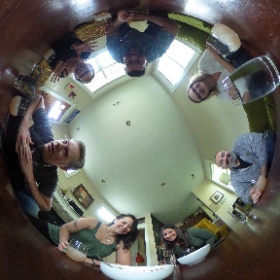 Happy birthday, Julie! #theta360