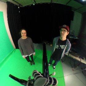#filmset #crew #selfie #contentpark #switzerland #zurich #greenscreen #theta360