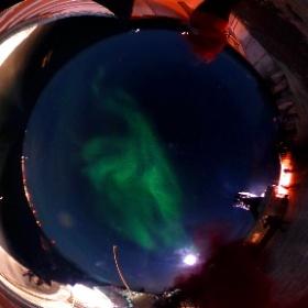 Aurora Borealis, Arctic Circle, Norway. #hurtigruten #msnordnorge #norway #aurora #theta360