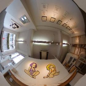 conixさんの展示が京都で見られる幸せ #theta360