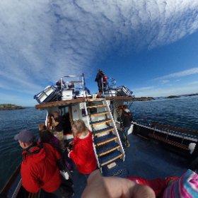 #sealifesurveys #mull #tobermory on the look out for Minke whales  #theta360 #theta360uk