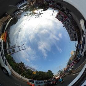 Sekitaran Jl. ZA. Pagaralam, Selasa (06/09/2016, 17:10 WIB) #RicohTheta360 #FocusOneLampung #FocusOneIndonesia #theta360