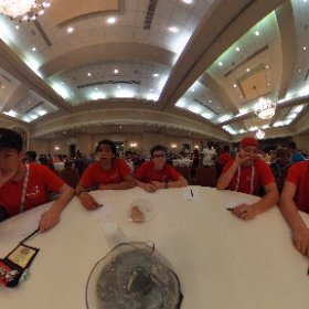 Getting ready for the State Delegation Meeting. #theta360