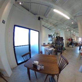 2階カフェ #theta360