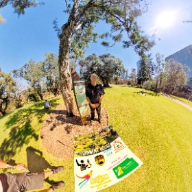 Hi to Ranger Alby at Government House in Perth CBD, heritage residence built 1860, 4 hectares of Botanical gardens https://linkfox.io/k3Au3 BEST HASHTAGS  #GovernmentHouseWA  #PerthCBD   #PerthCity  #Butterfly3d #theta360