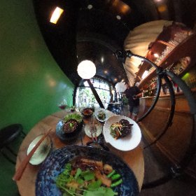 Lens change at today's Dragonfly photo shoot for a food magazine! #theta360