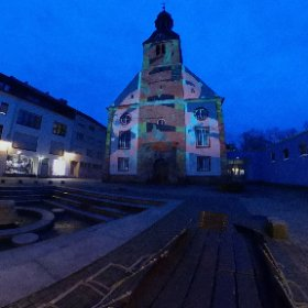 alte evangelische Kirche St. Johann  #theta360 #theta360de
