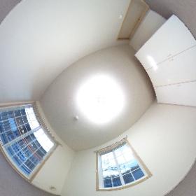 籠原駅の賃貸アパート「ハイツシマダ」の改装後写真です。角部屋は明るい窓があって素敵な空間です。http://www.taitoku-chintai.com/id/2088088 #theta360