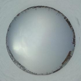 It snowed! #theta360