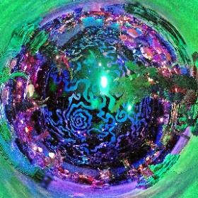 海底の世界、マーメイドラグーンのアンダー・ザ・シーエリア。開園間もない、誰もいない時間。 #TDR全天球画像