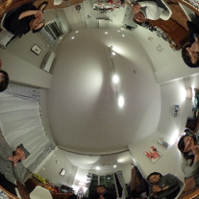 20190205@湯島の大将と女将さん食堂 #theta360
