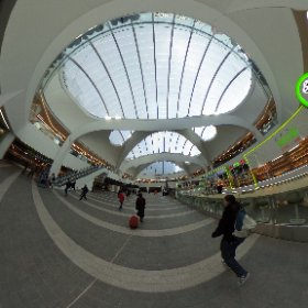 #digifest16 delegates - look out for the new improved Birmingham New St station #theta360 #theta360uk