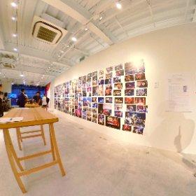 """3年間の奇跡を辿る""""LIMITS展 Exhibition"""" 1F #theta360"""