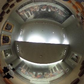 大塚国際美術館 最後の晩餐 修復前と修復後 #theta360