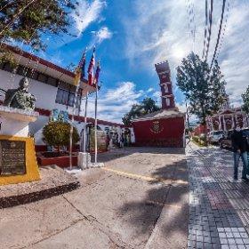 Municipalidad, Vicuña. IV Región de Chile.