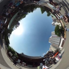 浅草神社(東京)の神前結婚式  photo : 360度カメラ研究会(http://camera-360do.com/) by ほーりー