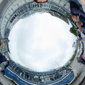 Munich airport, Germany. Carl Zeiss bus meeting  #theta360