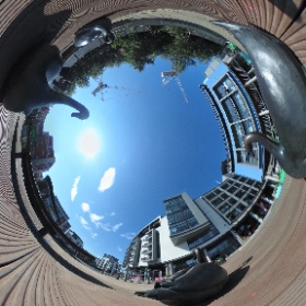 Fountainbridge Square #theta360