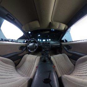 1998 Pontiac Formula Firebird WS6 interior 360 degree view
