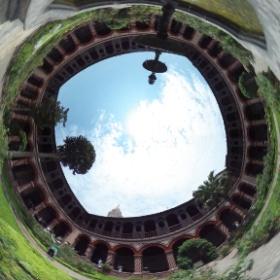 サント・ドミンゴ教会、修道院の中庭 #theta360