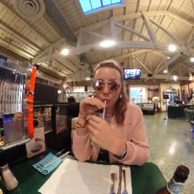 Mel's Drive-In #theta360 #theta360uk