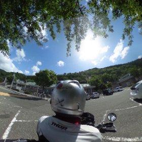 道の駅河野(福井県南越前町) VRでバイク旅 日本一周【51日目】まさかのリタイア!? http://www.merkurlicht.com #theta360