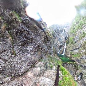 Chasing waterfalls #bohinj #slovenia #theta360