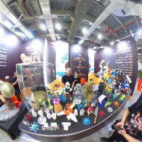 2019.08.21 台灣國際3D列印展 - 領先顏料色母廠