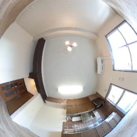 和モダンリノベーションの「和処 -wadocoro-」No.021 リビング 完成360°パノラマ写真です。http://www.taitoku-chintai.com/id/39825/201