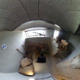 Museo en la zona de tiro de la guerra civil en Alcoletge,Mirador de Alcoletge #theta360