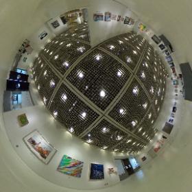 2021第56回亜細亜現代美術展第2室ドア側