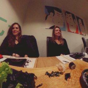 #sushifeast #teachers #erasmus #pjatk #pjait #theta360