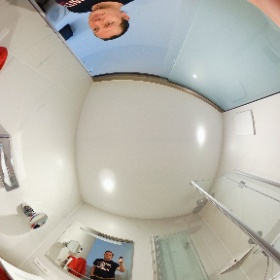 Bathroom in a hotel #theta360