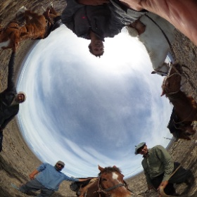 See this 360 photo. We are at Darwin and FitzRoy's Western Station near the Santa Cruz River #theta360