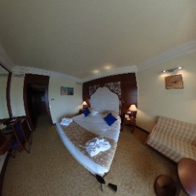 Habitación standard Le Royal Hammamet #tunez #BBtripTunez #leroyalhammamet @bluebayhotels #theta360
