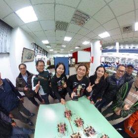 2019.12.02 ~12.04 國立華僑高中 - 雷切版 Arduino 甲蟲車實作