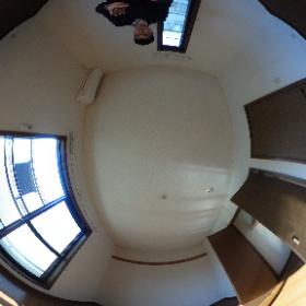 世田谷区中町にあります「プルミエ中町」2LDKテラスハウスの2階洋室パノラマ写真です。物件についてはこちらhttp://www.futabafudousan.com/bukken/g/syousai/528dat.html #theta360