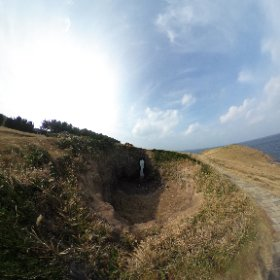 鬼の足跡,壱岐島 #theta360