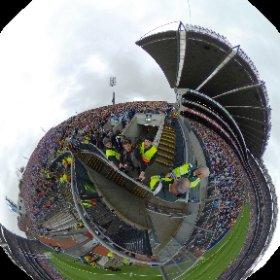 Dublin vs Mayo All ireland Final 2016 #rain3d #craicingalway #madforsam @irishtv @dublinGAA @ #theta360 #theta360uk