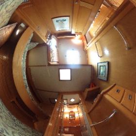 50' Hinckley Port Guest Stateroom #theta360