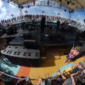 @cruisetotheedge Saga on the pool stage #theta360 #theta360uk