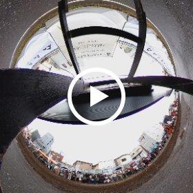 スポーツ流鏑馬(やぶさめ)デモンストレーション(2019/10/6に下北沢線路跡地にて撮影)