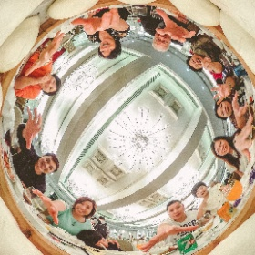 Terence Pang様「Birthday Bun 誕生日パン」 Every face is so happy for the birthday bun #theta360