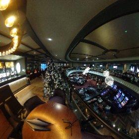 Grosvenor Casino Leeds Westgate: Sneak peek look after a £3m refurbishment at the popular split level casino in Wellington Bridge Street, Leeds, LS3 1LW. #theta360 #theta360uk