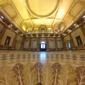 WENTWORTH WOODHOUSE: The spectacular Marble Hall inside The Wentworth Woodhouse stately home at Wentworth, on the Rotherham and Barnsley border in South Yorkshire, UK. #theta360 #theta360uk