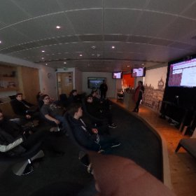 Thanks to @‪natburgess88‬ for giving our danish exchange students a tour of @MSFTScotland offices @WestCollScot #MIEExpert #theta360