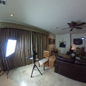 Setting up to do a little video shoot! #theta360
