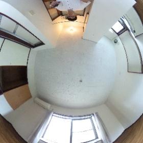 世田谷区瀬田にあります「グリーンハウス」ワンルーム角部屋パノラマ写真です。物件詳細はこちらhttp://www.futabafudousan.com/bukken/g/syousai/723dat.html #theta360