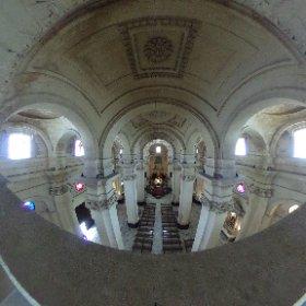 Vistas espectaculares desde el balcón que está encima de la puerta principal de la Iglesia de San Juan Bautista (Iglesia Mayor)  #Chiclana #Cadiz http://www.dechiclana.com/item/iglesia-de-san-juan-bautista/ #theta360