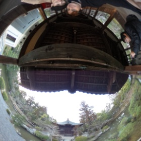 Haven't taken one of these for a while! Seiryō-ji yesterday. #theta360